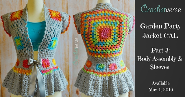 Garden Party Jacket Crochet-Along CAL (4)