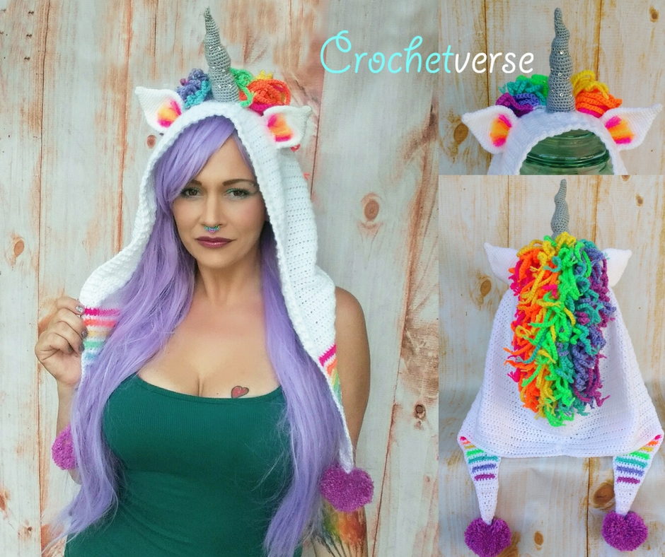 The Order Of The Unicorn Presents Free Crochet Unicorn Tail