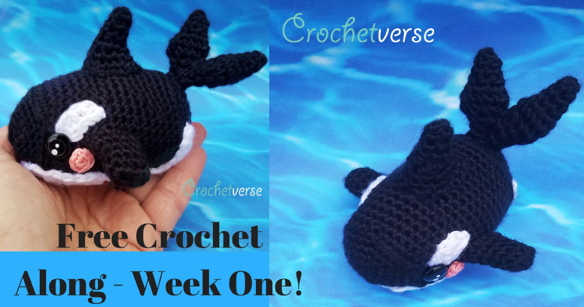 Baby Blue Whale Amigurumi | Another whale! This one made as … | Flickr | 1050x2000