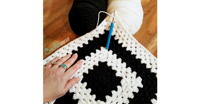 Free Basic Endless Granny Square Crochet Pattern Crochetverse